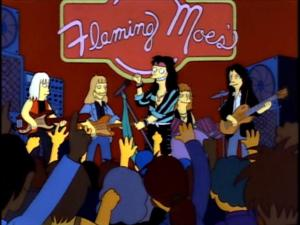 Aerosmith - The Simpsons - Flaming Moes - promo animated pic - #1991