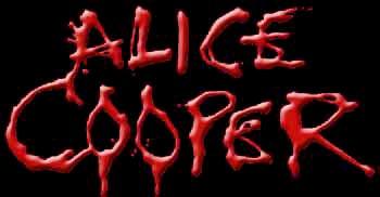 Alice Cooper - classic bloody logo - #6671966