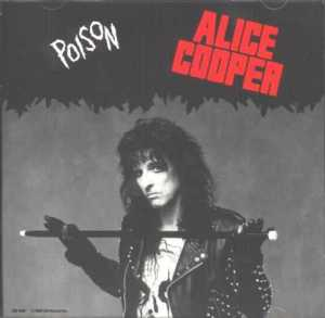 Alice Cooper - Poison - promo single cover sleeve - #1987AC