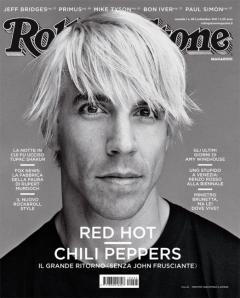 Anthony Keidis - Rolling Stone promo cover - Italian version