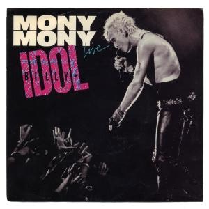 Billy Idol - Mony Mony Live - promo single sleeve - #1987BI