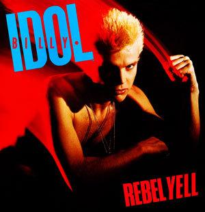 Billy Idol - Rebel Yell - promo cover pic - #1983BI