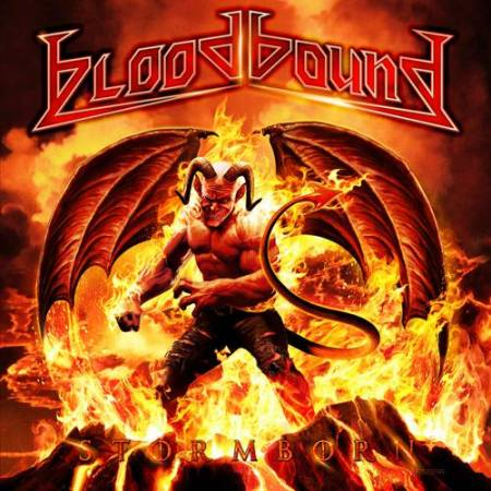 Bloodbound - Storm Born - promo album cover pic - 2014