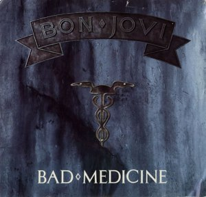 Bon Jovi - Bad Medicine - promo cover pic - #8800BJ