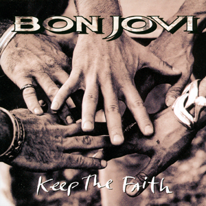 Bon Jovi - Keep The Faith - promo cover pic - #1992BJ