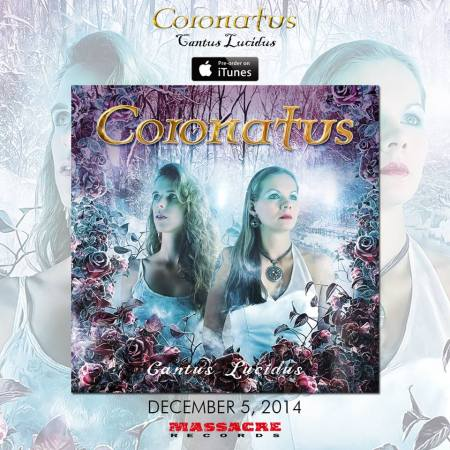 Coronatus - Cantus Lucidus - promo album cover flyer - itunes - #201411