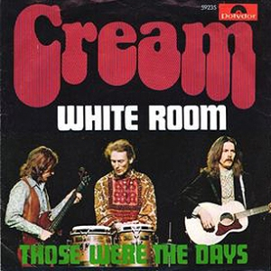 Cream - White Room - promo 45 rpm - sleeve - #1968C