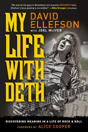 David Ellefson - My Life With Deth - promo autobiography  book cover - 2014 - #101
