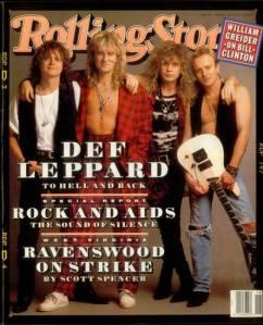 Def Leppard - Rolling Stone mag - #3399DL