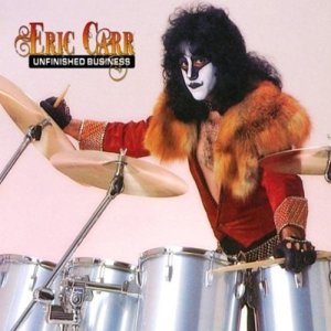 Eric Carr - Unfinished Business - promo album cover pic - #1950EC - KISS