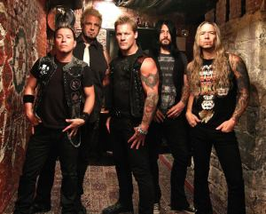 Fozzy - promo band pic - #777CJ - 2014 - November 3rd