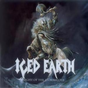 Iced Earth - Night Of The Stormrider - promo cover pic - #1991IE