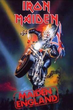 Iron Maiden - Maiden England - #1989 - promo video cover pic