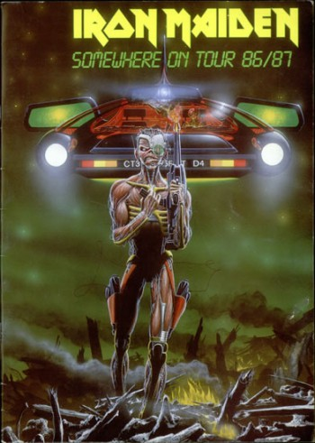 Iron Maiden - Somewhere On Tour - promo tour program pic - #198687