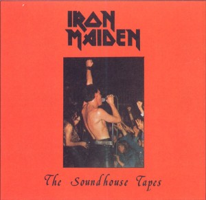 Iron Maiden - The Soundhouse Tapes - Debut EP - promo cover pic - #1979PD