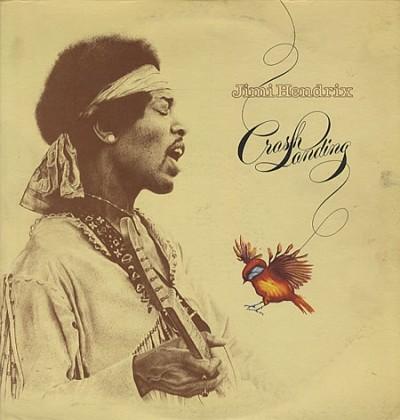 Jimi Hendrix - Crash Landing - promo album cover pic - #1127777
