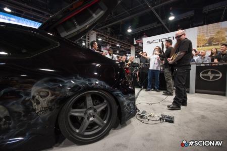 Kerry King Tom Araya - Slayer - Scion AV - promo pic - 2014 - #002