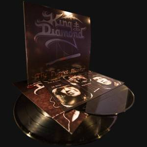 King Diamond - The Puppet Master - promo vinyl album pic - 2014 - #1109