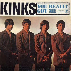 Kinks - You Really Got Me - promo single 45rpm - cover sleeve - #1964DD