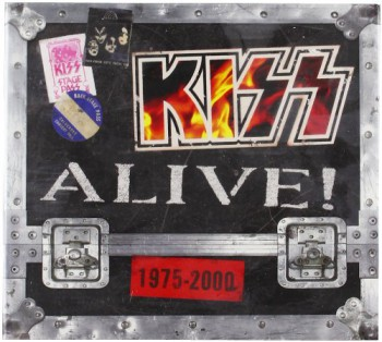 Kiss - Alive! - 1975 - 2000 - Box Set - promo cover pic - #1996