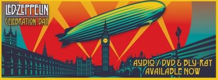 Led Zeppelin - Celebration Day - promo album banner - 2013 - #02