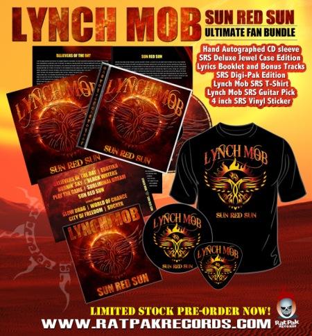 Lynch Mob - Sun Red Sun - ultimate fan bundle - promo flyer - 2014
