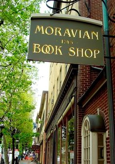 Moravian Book Shop - promo stor front photo - #2014 - 1116