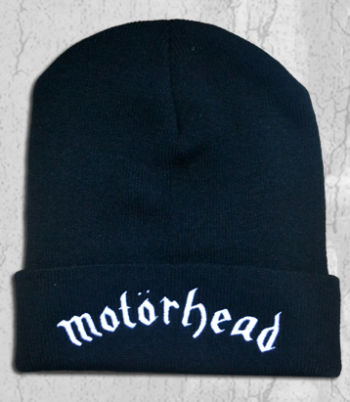 Motorhead - beanie - promo pic - #2014LK