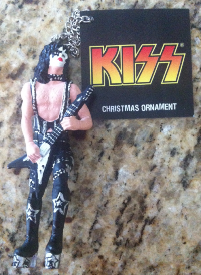 Paul Stanley - KISS - Christmas Ornament - promo pic - #2011PS