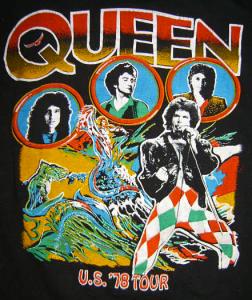 Queen - 1978 - Tour - T-shirt - promo pic - #19781116