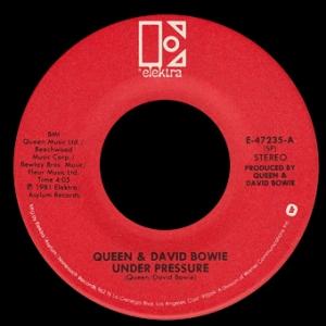 Queen and David Bowie - Under Pressure - promo 45rpm - vinyl single - #1981