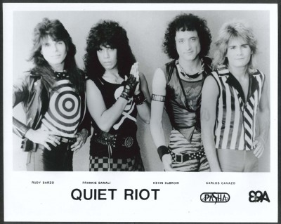 Quiet Riot - circa 1983 - publicity band card - #1984KD