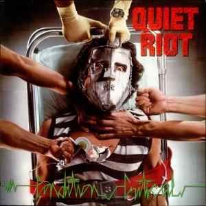 Quiet Riot - Condition Critical - promo album cover pic - #1984KDFB