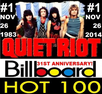 Quiet Riot - Metal Health - Billboard - 31st anniversary - promo flyer