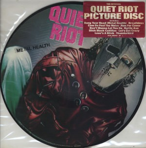Quiet Riot - Metal Health - picture disc - promo photo - #1983KD