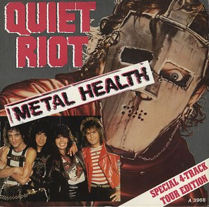Quiet Riot - Metal Health - special 4 - track tour edition - promo cover pic - #1983KDCC