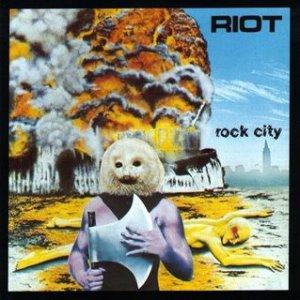 Riot - Rock City - promo album cover pic - #1977RS
