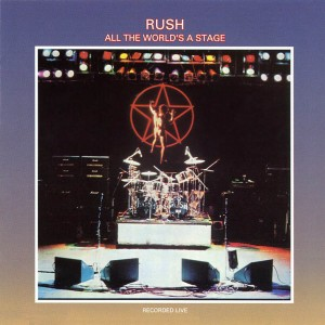 Rush - all the worlds a stage - promo album cover pic - #1976GL
