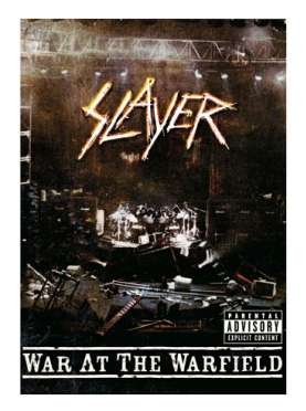 Slayer - War At The Warfield - promo DVD cover pic - #2014JHF