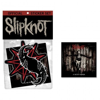 Slipknot - Sticker Music Bundle - promo pic - #2014001