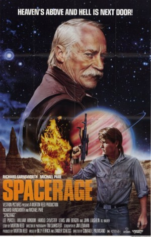 Space Rage - promo movie poster pic - #1986SR