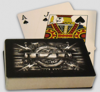Tesla - Time Machine Playing Cards - promo photo - #2014NT
