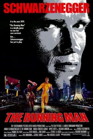 The Running Man - promo movie poster - 1987 - #1113