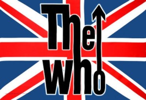 The Who - classic band logo - British Flag - #1967 - PTKM66