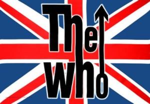 The Who - classic band logo - British Flag - #1967 - PTKM66
