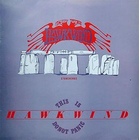This Is Hawkwind Do Not Panic - promo cover pic - 1984 - small size