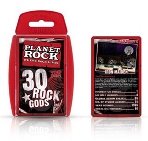 Top Trumps - Rock Gods - Iron Maiden - December - 2014 - promo pic