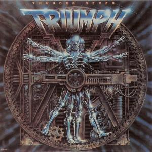 Triumph - Thunder Seven - album cover promo pic - #1984RE #198