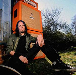 Troy McLawhorn - dark new day - evanescence - orange amplification - promo photo - 2012