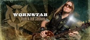 Troy McLawhorn - wornstar clothing promo banner - Evanescence - #0012